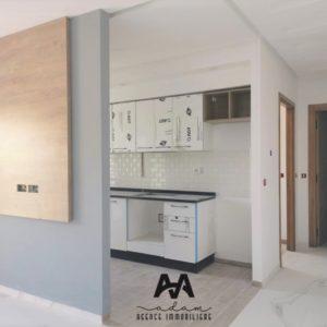 Appartement S+1 vue dégagé de 77m² à Hammamet Nord