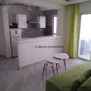Appartement S1 meublé jamais habité à Ain Zaghouan Nord