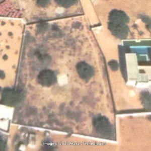 Terrain 1700 m² titre bleu et permis de bâtir