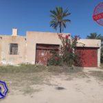 Photo-2 : Ancienne demeure avec fermes et puit d'eau titre bleu à Midoun Djerba