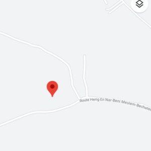 ارض فلاحية على الطريق الرئيسي الى بني مسلم