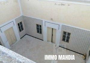 Maison traditionnelle à Zwila de Mahdia