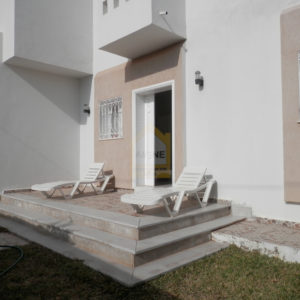 Villa meublée vue sur mer à la lagune Tezdaine Djerba