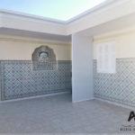 S+1 meublé avec une grande terrasse à Lido, Nabeul