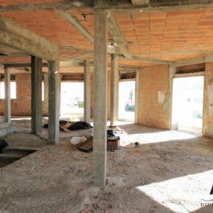 Immeuble inachevé à l'AFH Mrezga Nabeul