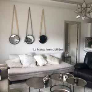 Appartement S1 meublé au cœur de Marsa Ville