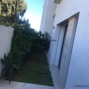 Appartement S+2 avec jardin à Sidi Daoued