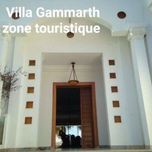 Villa zone touristique Gammarth