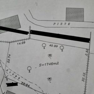 Terrain 2eme position de la route du phare Djerba Midoun
