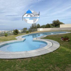 Étage de villa s+3,haut standing situé au baie des anges kantaoui