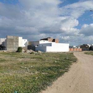 Terrain d'habitation à maamoura de 435m²