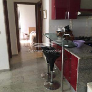 Appartement 2 pièces meublé – route de la plage – Sousse