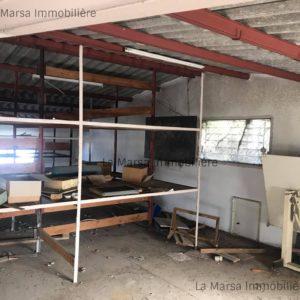 Entrepôt de 130m² à la Soukra