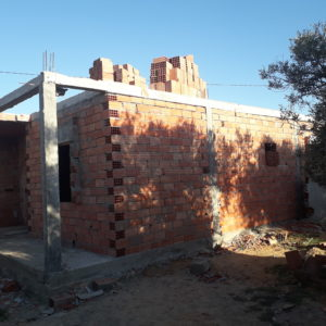 Karkas avec garage à Tezdaine Midoun Djerba