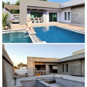 Villa de luxe avec piscine proche la mer Midoun Djerba