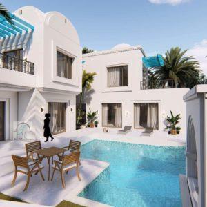 Villa de charme avec piscine à Djerba Midoun