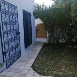 Appartement S2 meublé avec jardin à Gammarth