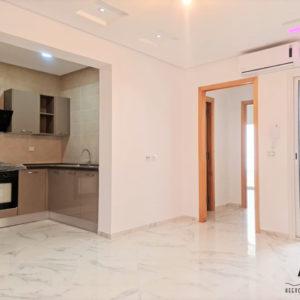 Appartement S+1 lumineux de 85m² à Hammanet Nord