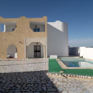Villa avec piscine à Tezdaine Djerba