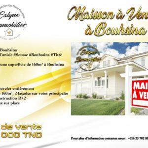 Maison à Bouhsina