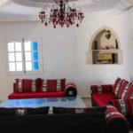 Photo-18 : Palmiers villa de vacances avec piscine vue mer à djerba