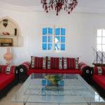 Photo-19 : Palmiers villa de vacances avec piscine vue mer à djerba