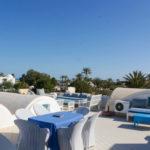 Photo-25 : Palmiers villa de vacances avec piscine vue mer à djerba