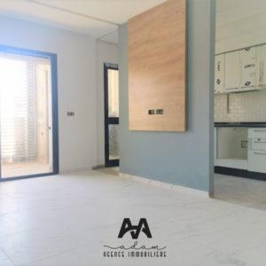 Appartement S+1 de 75m² couvert et 12m² de jardin à Hammamet Nord