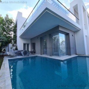 Luxueuse villa de vacances avec piscine à Hammamet Nord