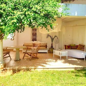Rez-de-chaussée S2 meublé avec jardin à Gammarth Supérieur