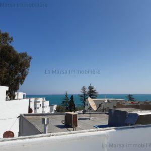 Villa S5 à 20 mètre de la plage à la Marsa