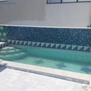 Belle villa S4 avec piscine à Gammarth