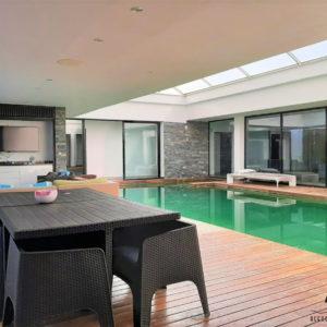 Villa avec jardin et piscine chauffée à Hammamet Nord