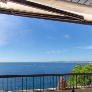 Appartement s2 meublé vue sur mer à Sidi Dhrif