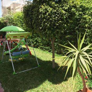 Coquette appartement au RDC S+2 meublé