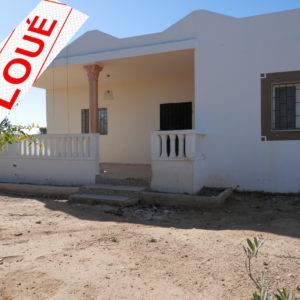 Villa S+3 sans meuble à Tezdaine Midoun Djerba