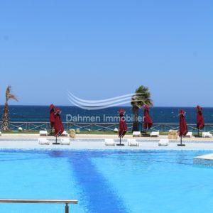 Joli appartement avec accès pour la piscine et plage à Chott Mariem