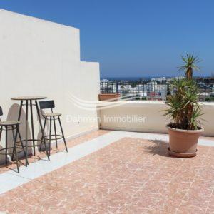 Lumineux penthouse à khzema – Est – Sousse