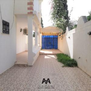 Villa S+3 avec jardin et abris à Hammamet