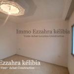 Photo-2 : Deux appartements en RDC finis et deux autres inachevés aux 1ér étage situés à kélibia