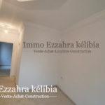 Photo-3 : Deux appartements en RDC finis et deux autres inachevés aux 1ér étage situés à kélibia