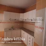 Photo-6 : Deux appartements en RDC finis et deux autres inachevés aux 1ér étage situés à kélibia