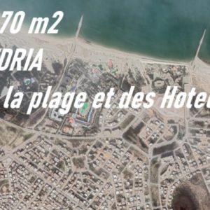 Terrain 370 m² à Borj Cedria Proche de la Plage