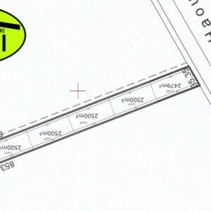 LOTS DES TERRAINS 2500 m² à Kélibia