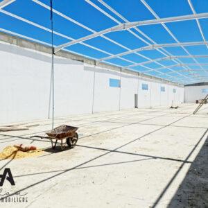 Usine en cours de construction à zone industrielle Bni Khiar, Nabeul