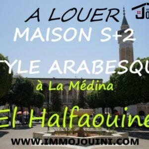 Maison S+2 A el Medina Halfaouine