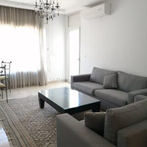 Appartement S2 meublé à 2min de Carrefour, la Marsa