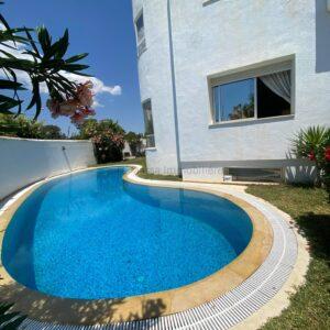 Maison de vacances avec piscine à Hammamet