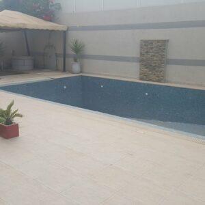 RDC S3 meublé avec piscine à La Marsa