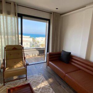 Duplex S3 meublé vue mer à La Marsa Corniche